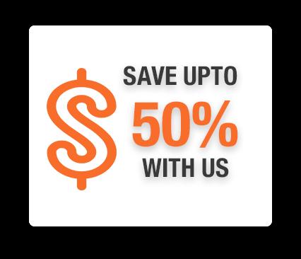 Save upto 50%